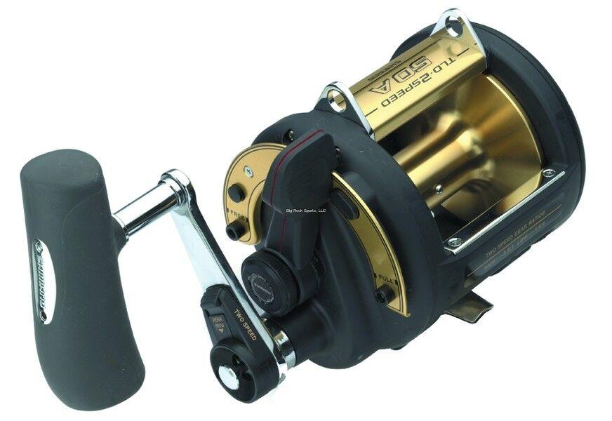 NEW  Shimano TLD 50 II A 2 Speed Trolling Multiplier Offshore Fishing R TLD50IIA
