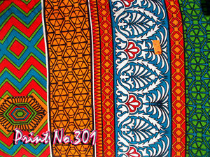Indian-5-Yard-Cotton-Fabric-Hand-Block-Handmade-Cotton-Natural-Sanganer-Running