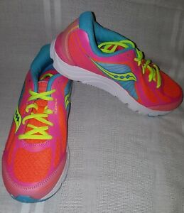 6587bb63 Details about Saucony Girls Kinvara 5 Athletic Shoes Coral & Orange Size 4M  NEW