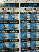 40 Baterias Relojes Ag4 377a 377 Lr626 Sr626sw Sr66 Lr66 376 Watch Battery