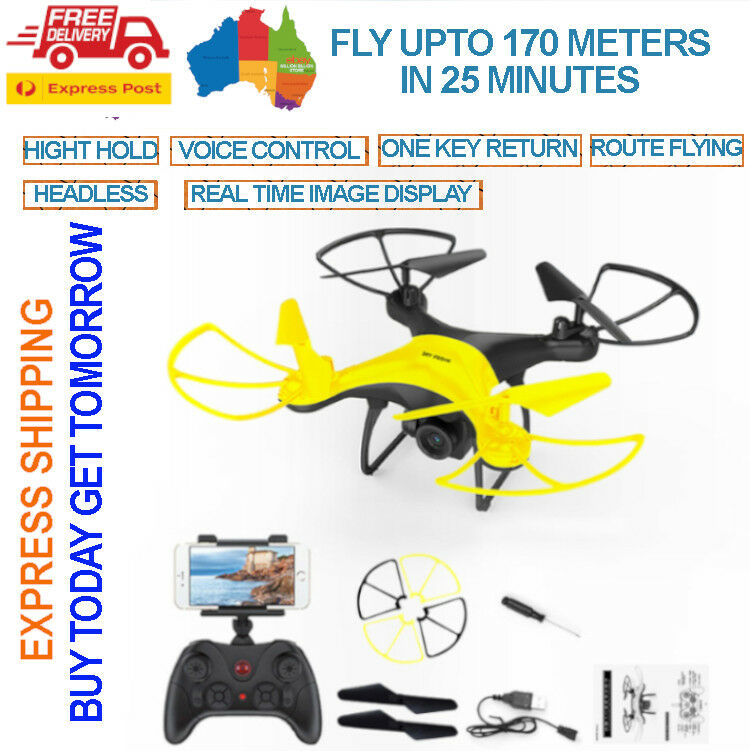 Drone 2MP HD Cámara altura sostener sin cabeza 2.4HG 6 CHNL Juguete Niño Regalo drone toy