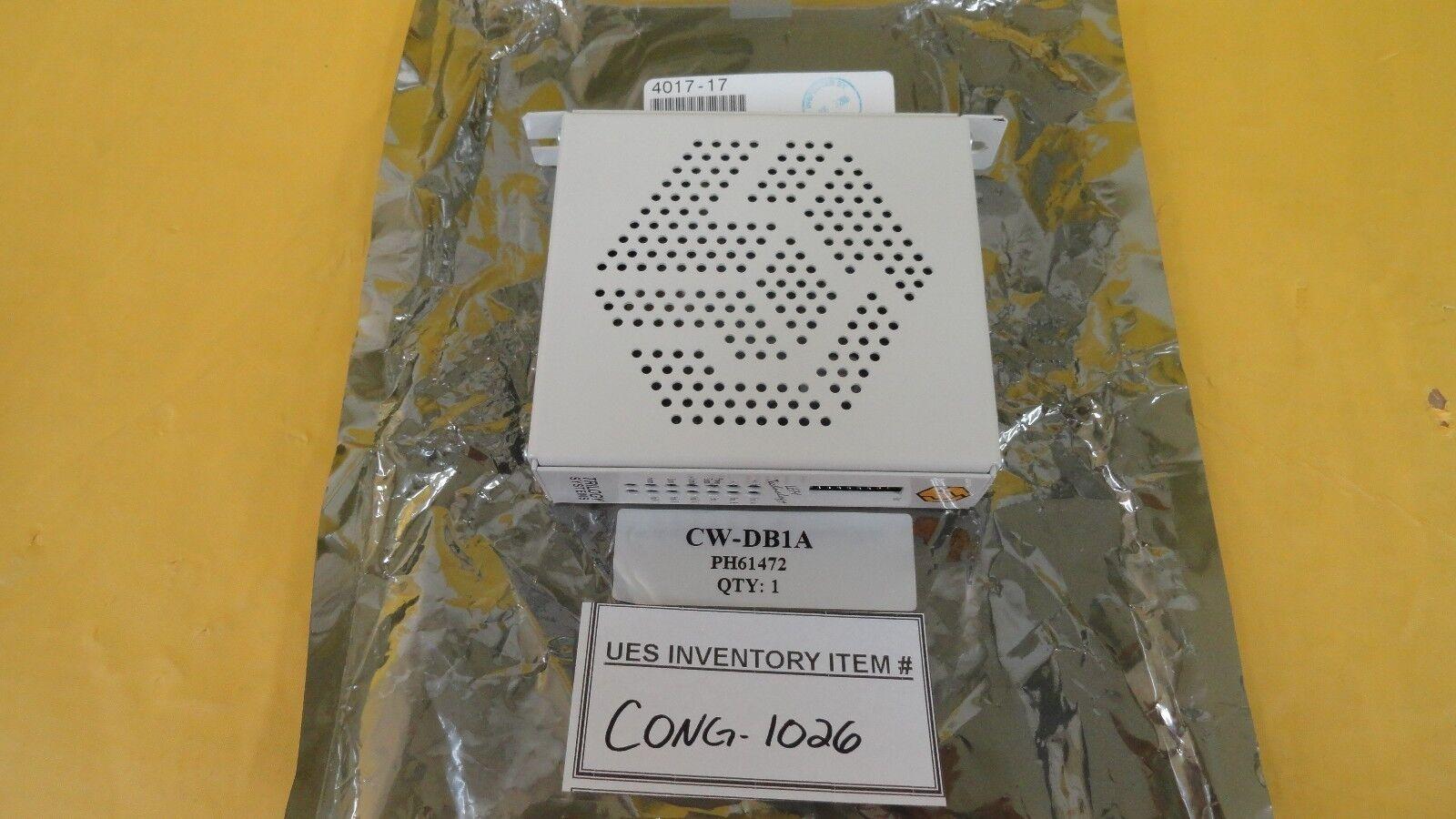 Trilogía sistemas sistemas sistemas CW-DB1A Lem tecnología decodificador semitool 4017-17 Usado 08f346