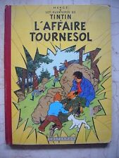 HERGE TINTIN L'AFFAIRE TOURNESOL 1956 CASTERMAN B19 EO FR BEL EXEMPLAIRE