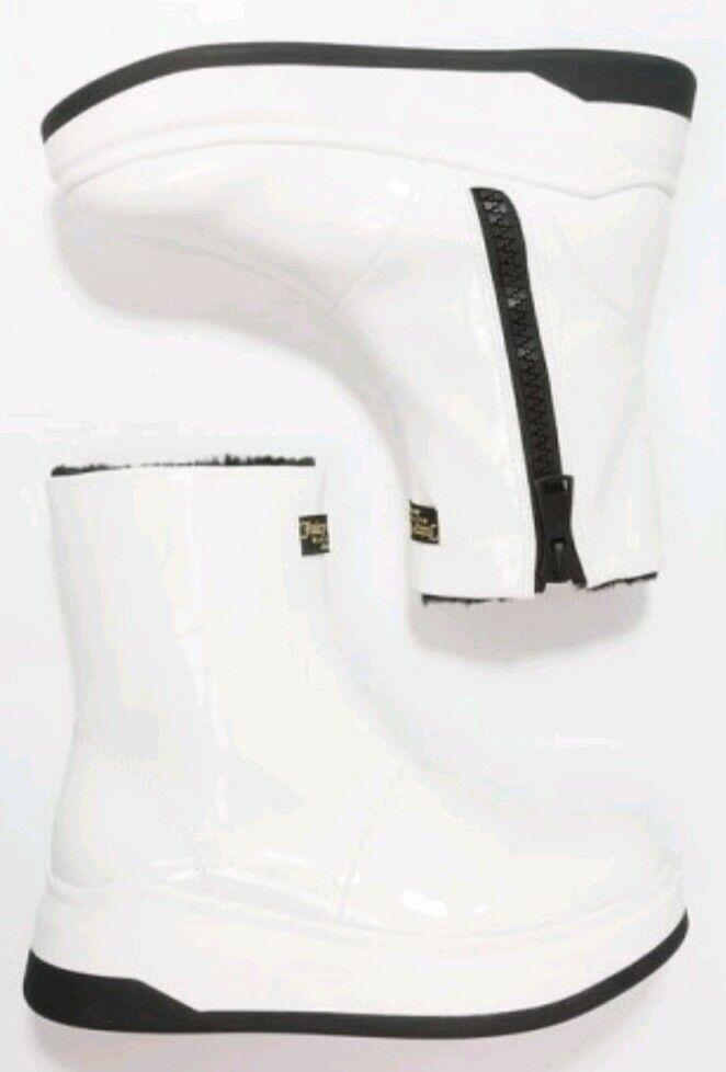 Juicy Couture Dalia Platform Womens Winter Boots White Size uk 5 eu 38