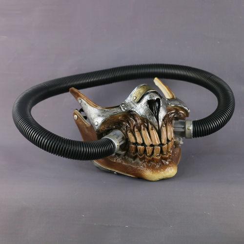 Cosplay Mad Max Mask Immortal Joe Half Face Gas Mask Adult Props Halloween Mask