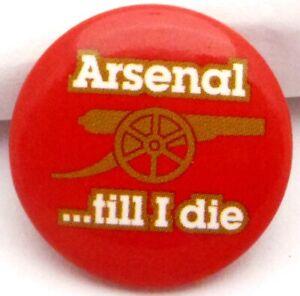 Button Anstecker Fc Arsenal London 25 Mm Lizenz 2