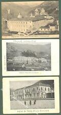 Liguria. PIEVE DI TECO, Imperia.Tre cartoline viaggiate tra il 1908 e il 1910.