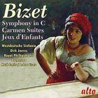 CD BIZET SYMPHONY IN C CARMEN SUITES JEUX D'ENFANTS WESTDEUTSCHE SINFONIA