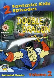 Double Dragon Vol 2 New Dvd Animated Cartoon Ebay