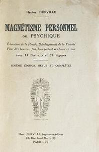 Hector-Durville-Magnetisme-personnel-ou-psychique-Education-de-la-pensee