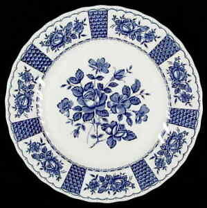 Myott-Staffordshire-MELODY-BLUE-Dinner-Plate-409968