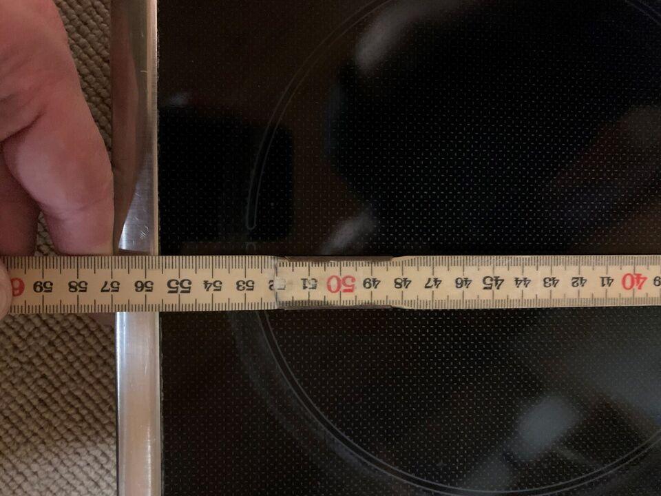 Glaskeramisk kogeplade, Bosch PKE645E01, b: 57 d: 51