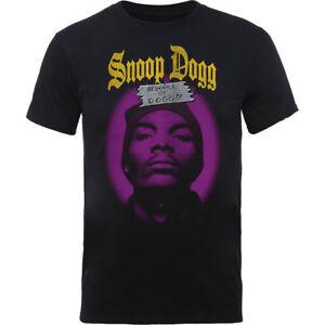 Snoop Dogg Beware of the Dog Mens Black Short Sleeve T Shirt Official Rap