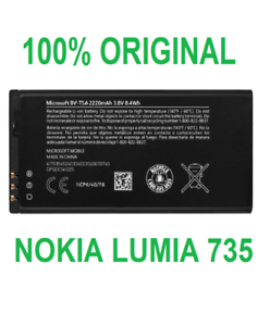 Original-Internal-Battery-For-Nokia-Lumia-735-BV-T5A-Phone-Replacement-Parts-New