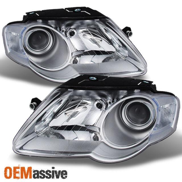 Fits 2006-10 Volkswagen Passat Headlights Headlamps Right Passenger Only