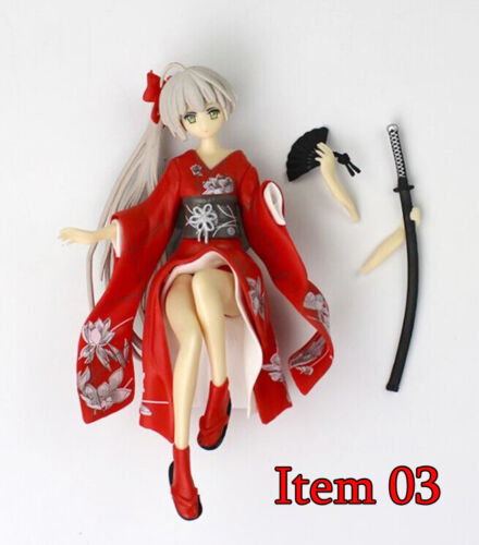 Anime Yosuga No Sora Kasugano Sora Anime Figure Kimono PVC Figurine Doll Toy