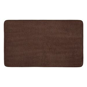 Details About Home Bubble Memory Foam Bath Mats Brown 20 X 34 Mohawk New
