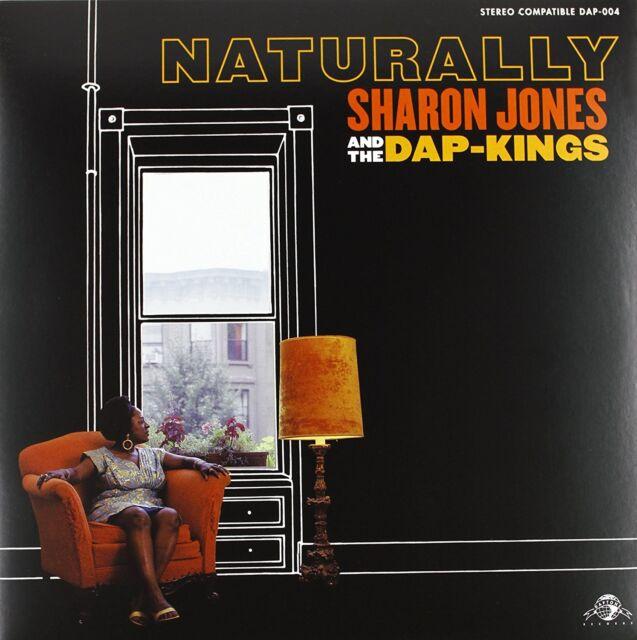 LP SHARON JONES & THE DAP KINGS NATURALLY AMY WINEHOUSE VINYL SOUL DAPTONE