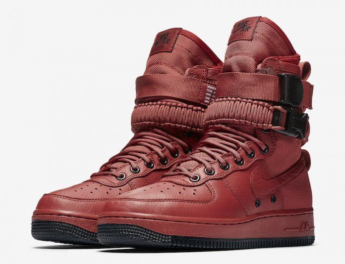 nike W SF AF1 Special Force Air Force 1 OXY CEDAR US WOMENS EXT SIZES 857872-600