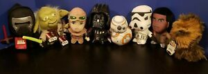 Disney Star Wars Episode VII Plush Lot Kylo Yoda Rey Vader BB8 Finn Chewbacca ST