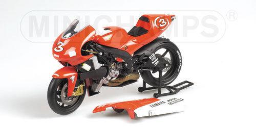 los clientes primero Minichamps yamaha yzr 500 500 500 equipo Yamaha 500cc gp 2001 m. biaggi  3, 1 12  tienda de descuento
