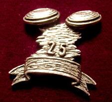 Pewter Skeet Clay Pigeon Brooch Pin  Signed