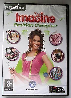 Imagine Fashion Designer Pc Dvd Rom Game Brand New Sealed Uk Ebay