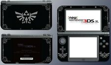 Legend of Zelda Special Edition Black Silver Skin Decal for New Nintendo 3DS XL