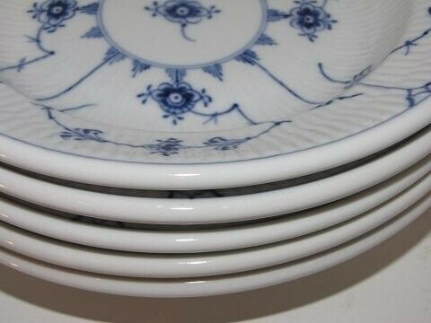 Porcelæn, Musselmalet Riflet Hotelporcelæn  Lille