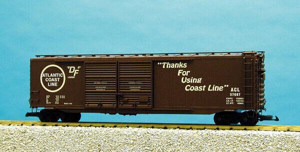 USA Trains G Scale 50 Ft Double Door Box Car R19311B Atlantic Coast Line - Tusca