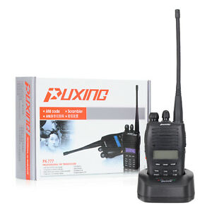 Walkie-Talkie-PUXING-PX-777-VHF-5W-128CH-136-174-MHz-FM-Interfono-VOX-CTCSS-DCS