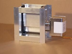 Details about HVAC Aluminum Motorized Damper (6