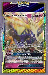 Carte Pokemon Neuve Française Amphinobi GX SL06:Lumière Interdite 24/131