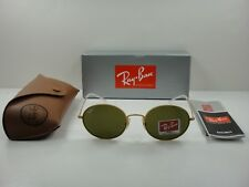 8731012768e Ray Ban Sunglasses Rb3594 901373 53mm Beat Oval Gold Frame Brown Classic  Lens