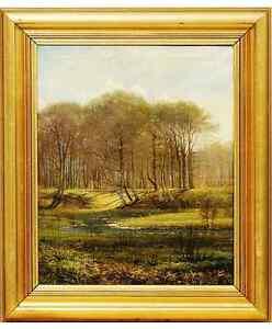 Landscape-by-A-E-Kieldrup-1827-1869-a-well-listed-danish-artist