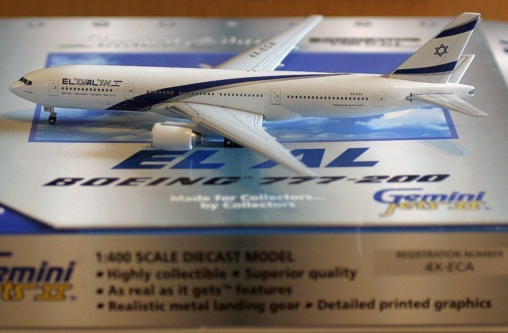 Gemini Jets El Al Israel Airlines Boeing B777-200 4X-ECA Gallilee gjely 359 1 400
