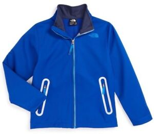 2ee7904e0 Details about NWT $99 The North Face Boys Apex Bionic Jacket Honor Blue  Youth Size L (14/16)