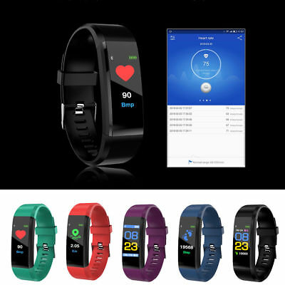 Smart band reloj inteligente ritmo cardiaco fitness pulsera  para Android iPhone