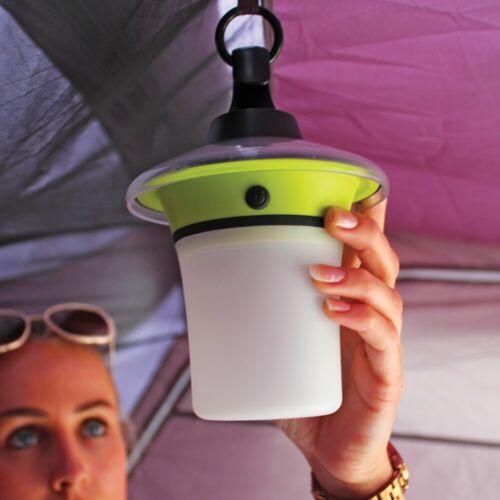 Outdoor Revolution Camping Tent Travel Lumi Solar Automatic Lantern Light Lamp