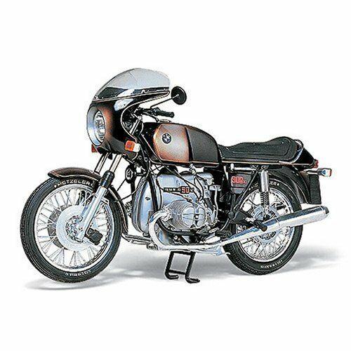 Tamiya 1   6 moto 8 BMW r90s plástico 16008