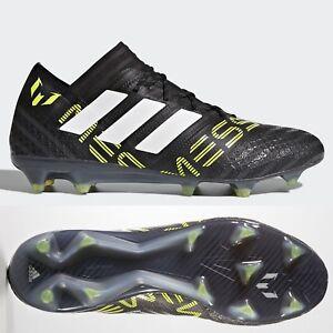 c4c79df94 adidas Nemeziz 17.1 FG Mens Football Boots Black Cleats ~ RRP £220 ...