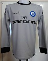 Rochdale A.f.c Grey Keepers Shirt By Carbrini Size Small Brand With Tags