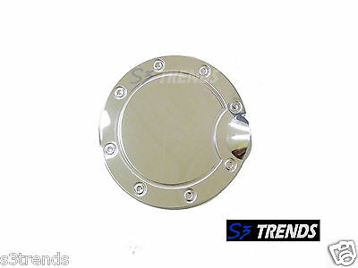 04 05 06 07 08 Ford F-150 F 150 Stainless Steel Fuel Door Gas Cover Chrome