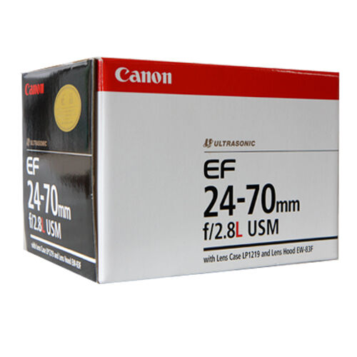 1 of 1 - Canon EF 24-70 mm f/2.8L USM Lens for Canon -Free Express