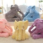 Soft Plush Stuff Toys Baby Children Gift Long Nose Elephant Doll Lumbar Pillow M