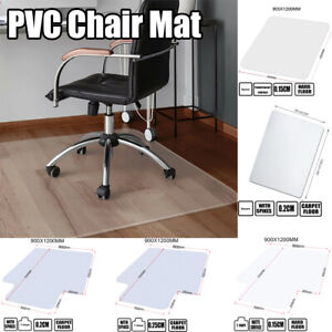Pvc Home Office Rolling Chair Mat For Protector Carpet