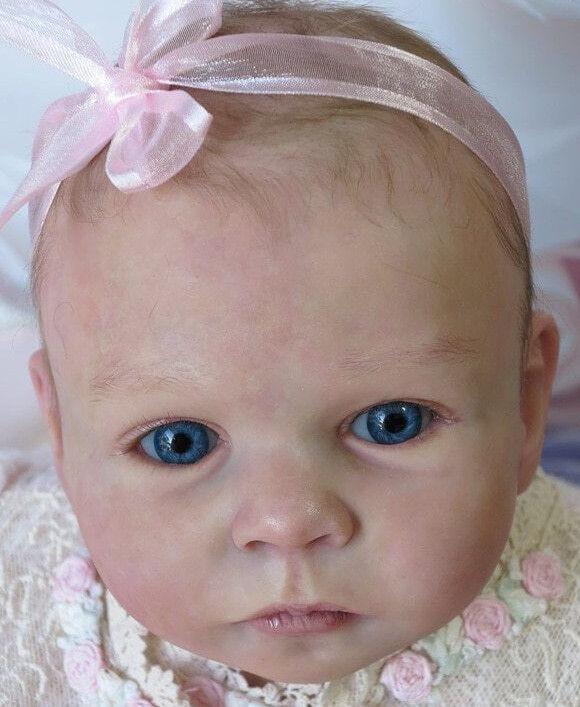 Tatum da Olga tschenskaja Kit Bambola Baby Reborn @ 22-23  @ 2018 NUOVO rilasciato