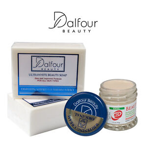 Authentic-Dalfour-Beauty-Face-Whitening-Set-With-Ultrawhite-Soap-amp-Excel-Cream