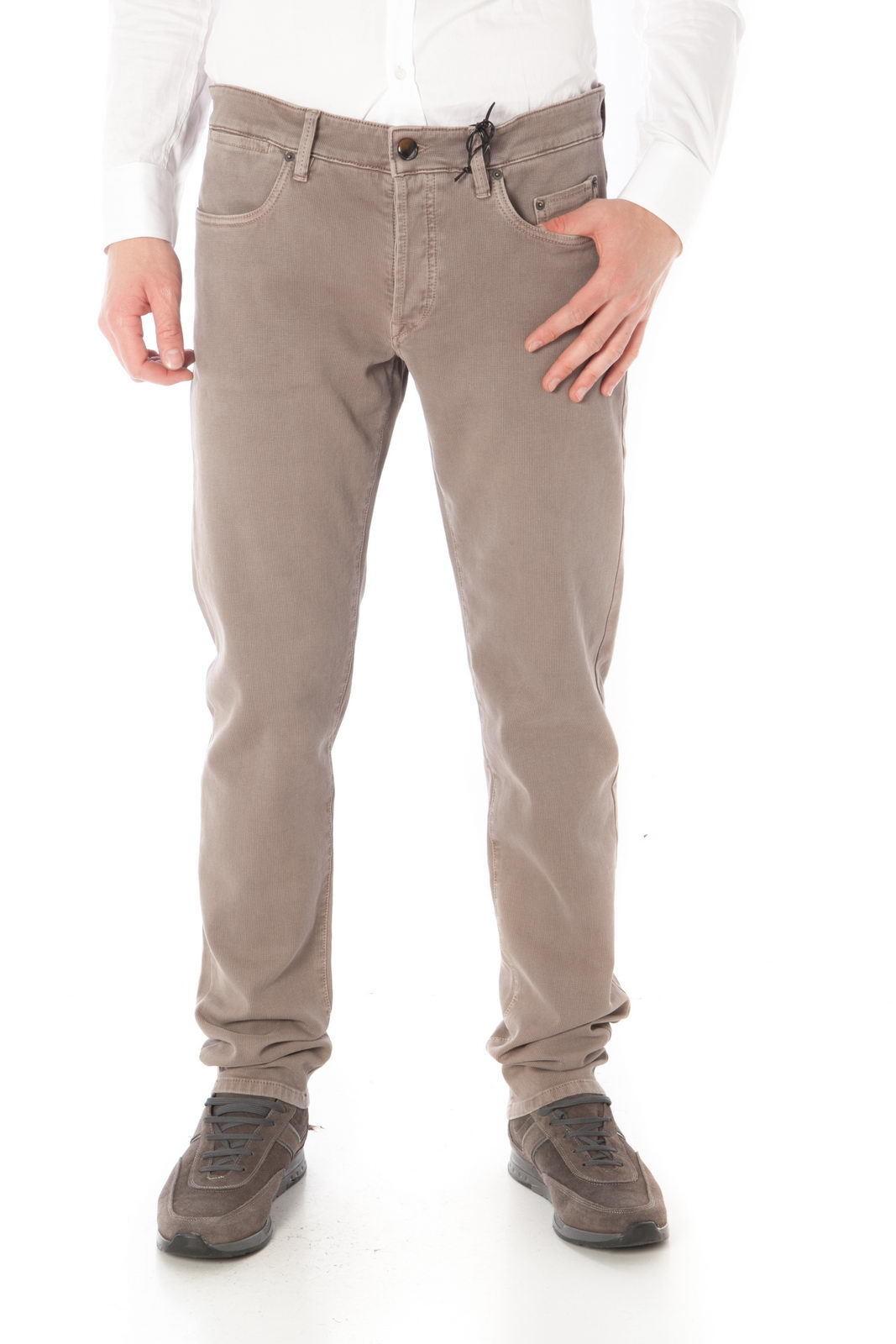 Pantaloni Siviglia Jeans Trouser ITALY men brown SP021USR10032B019 S633