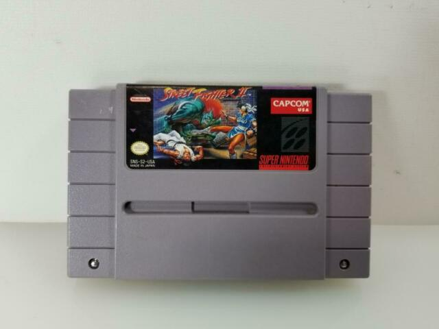 1992 Super Nintendo Street Fighter (CART ONLY) (AM1050880)